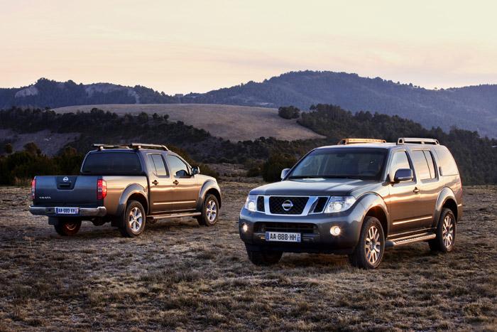 La pickup Nissan Navara con su hermano SUV, el Pathfinder